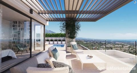 Benahavis Luxe appartementen met sea view. Video